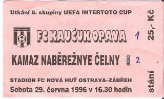 1996 - 1997 Opava - Nabereznye_intertoto