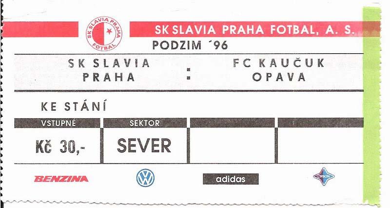1996 - 1997 Slavia - Opava