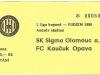 1996 - 1997 Olomouc - Opava