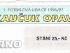 1996 - 1997 Opava - Brno