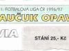 1996 - 1997 Opava - Slavia