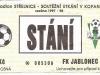 1997 - 1998 Jablonec - Opava