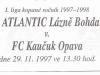 1997 - 1998 Lázně Bohdaneč - Opava