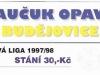 1997 - 1998 Opava - České Budějovice