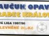 1997 - 1998 Opava - Hradec Králové