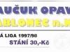 1997 - 1998 Opava - Jablonec