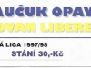 1997 - 1998 Opava - Liberec