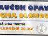 1997 - 1998 Opava - Olomouc