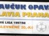 1997 - 1998 Opava - Slavia