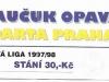 1997 - 1998 Opava - Sparta
