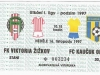 1997 - 1998 Žižkov - Opava