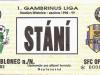 1998 - 1999 Jablonec - Opava