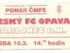 1998 - 1999 Opava - Jablonec (pohár)