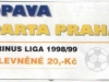 1998 - 1999 Opava - Sparta