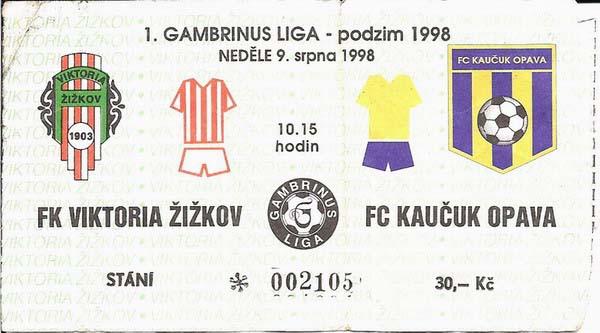 1998 - 1999 Žižkov - Opava