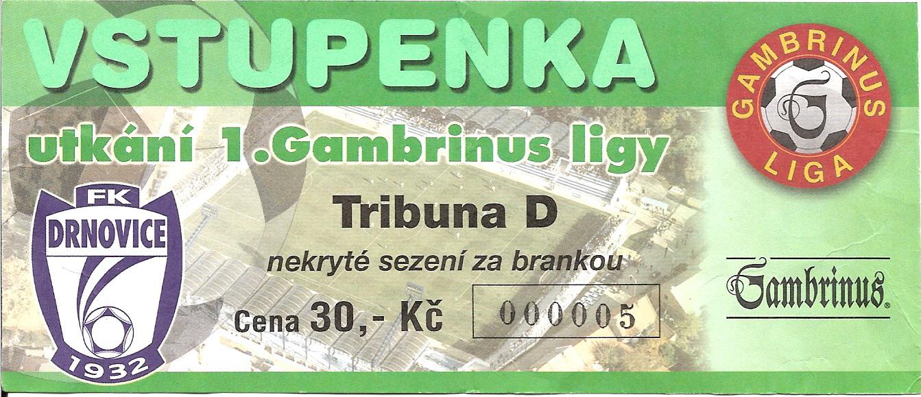 1999 - 2000 Drnovice - Opava