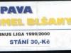 1999 - 2000 Opava - Blšany