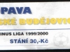 1999 - 2000 Opava - České Budějovice