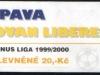 1999 - 2000 Opava - Liberec