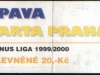 1999 - 2000 Opava - Sparta