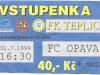 1999 - 2000 Teplice - Opava
